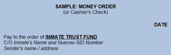 Sample Money Order