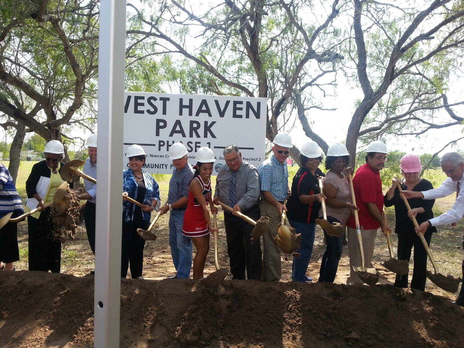 Groundbreaking Ceremony for Westhaven Park